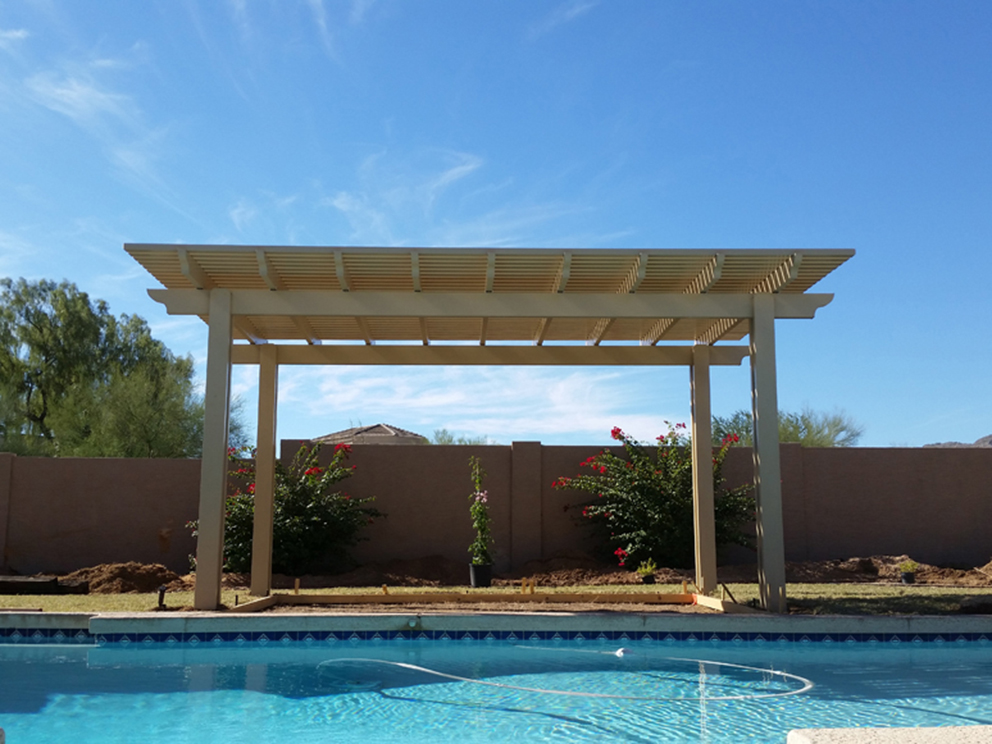 Add Grandeur to Your Home with a Lattice Patio Cover
