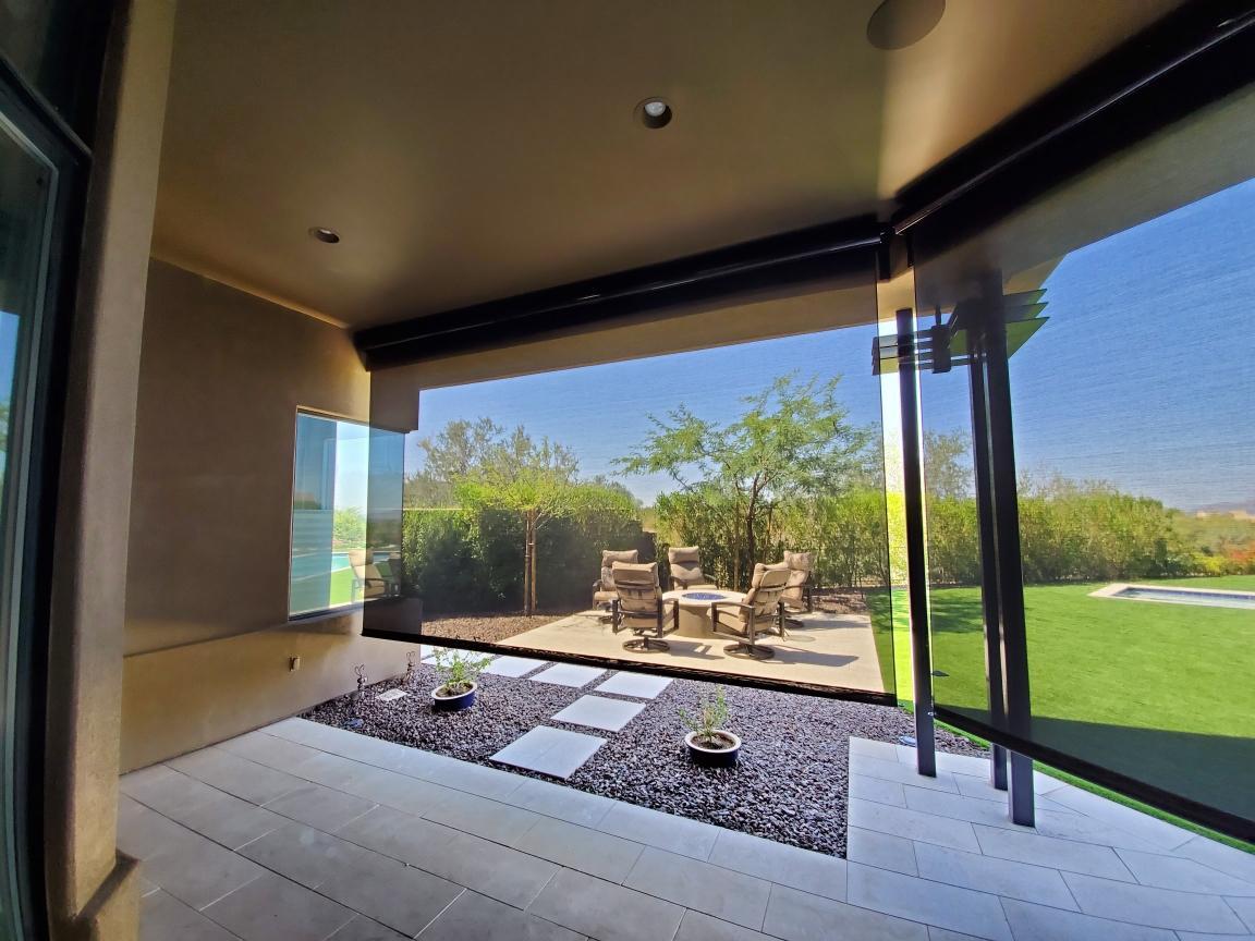 Patio Screens interior view